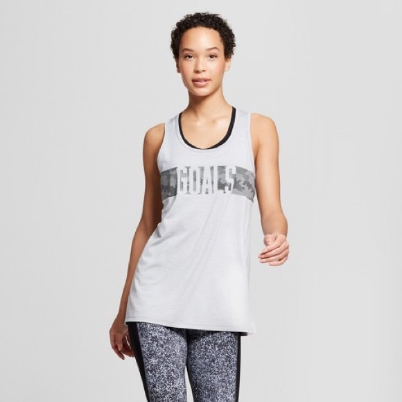 e04433d0c8 Champion Tops | Nwt Target C9 Graphic Tank Top Grey Small Med | Poshmark